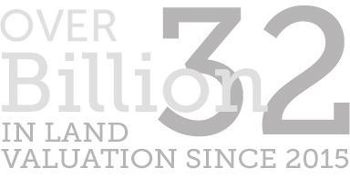32 billion in land valuation